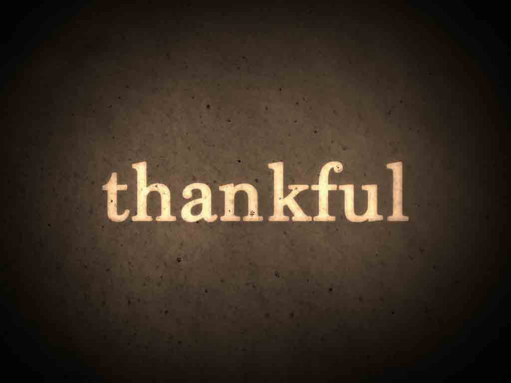 Be Thankful: Peace of Christ