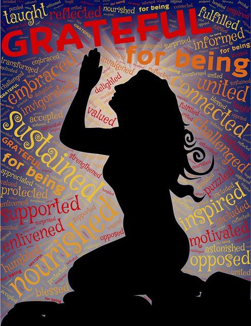 Gratitude for Mercy